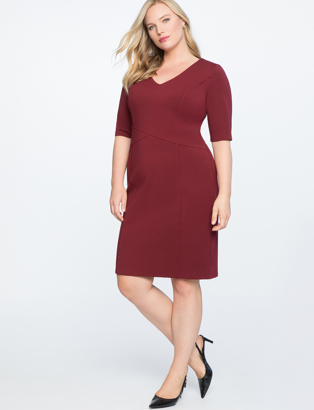 9-to-5 Stretch Work Dress