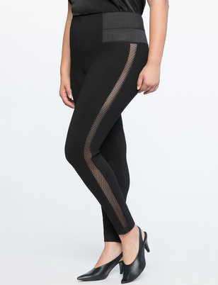 Miracle Flawless Legging With Mesh Inserts