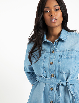 Denim Shacket
