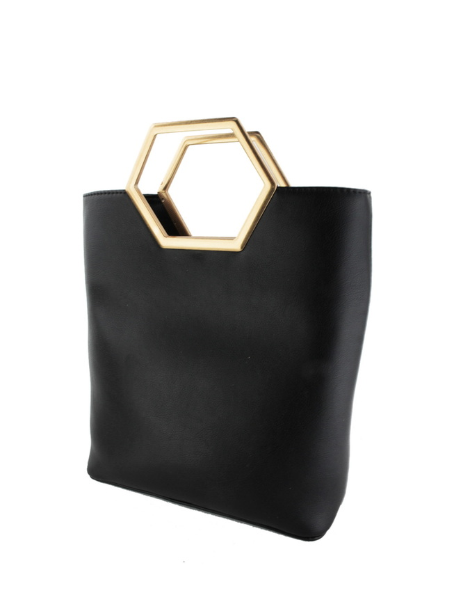 Hexagon Handle Tote