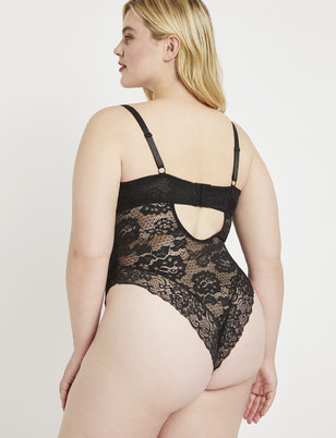 Allover Lace Bodysuit
