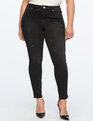 Peach Lift Jean Black