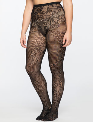 Floral Swirl Net Tight