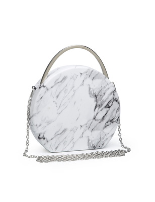 Circle Marble Crossbody Bag
