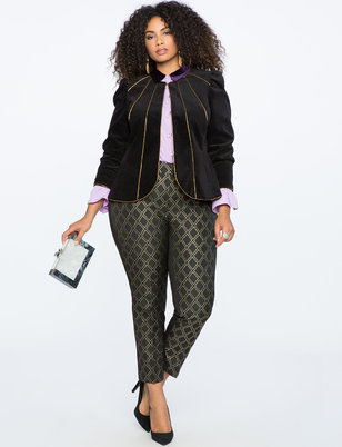 Kady Fit Brocade Pant