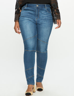 Moto Patchwork Jeans