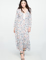 Maxi Peasant Dress Dream Weaver Floral