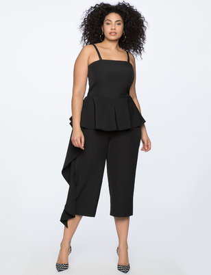 Cascade Cropped Jumpsuit