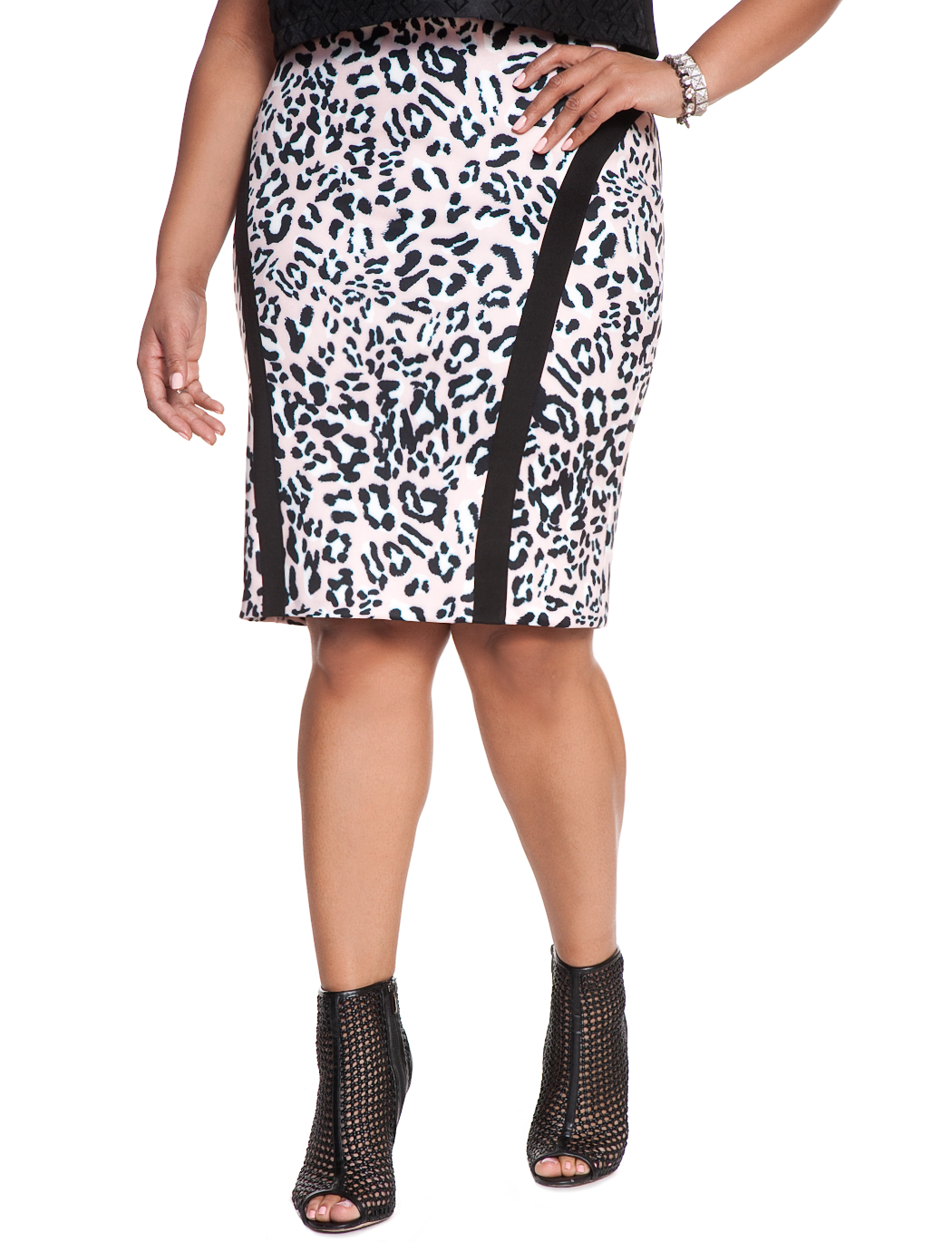 d6d8c5341d5 Animal Print Pencil Skirt