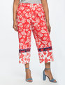 Floral Cropped Pant