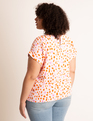 Printed Tee Seeking Dots