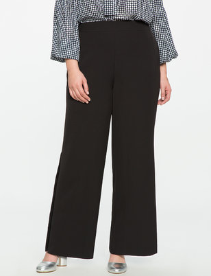 Side Pleat Trouser