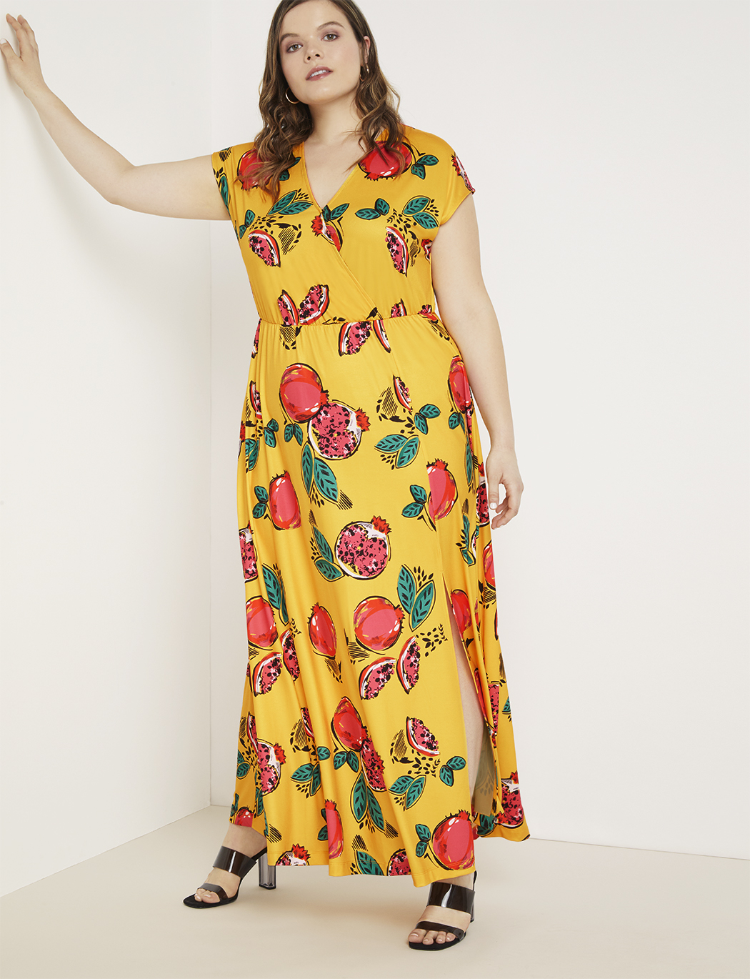 Printed Maxi Dress | Women\'s Plus Size Dresses | ELOQUII