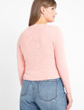 Crew Neck Sweater Peaches N' Cream