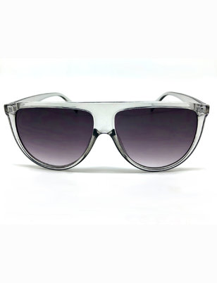 Straight Brow Shield Sunglasses
