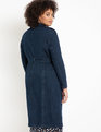 Denim Trench Dark Wash