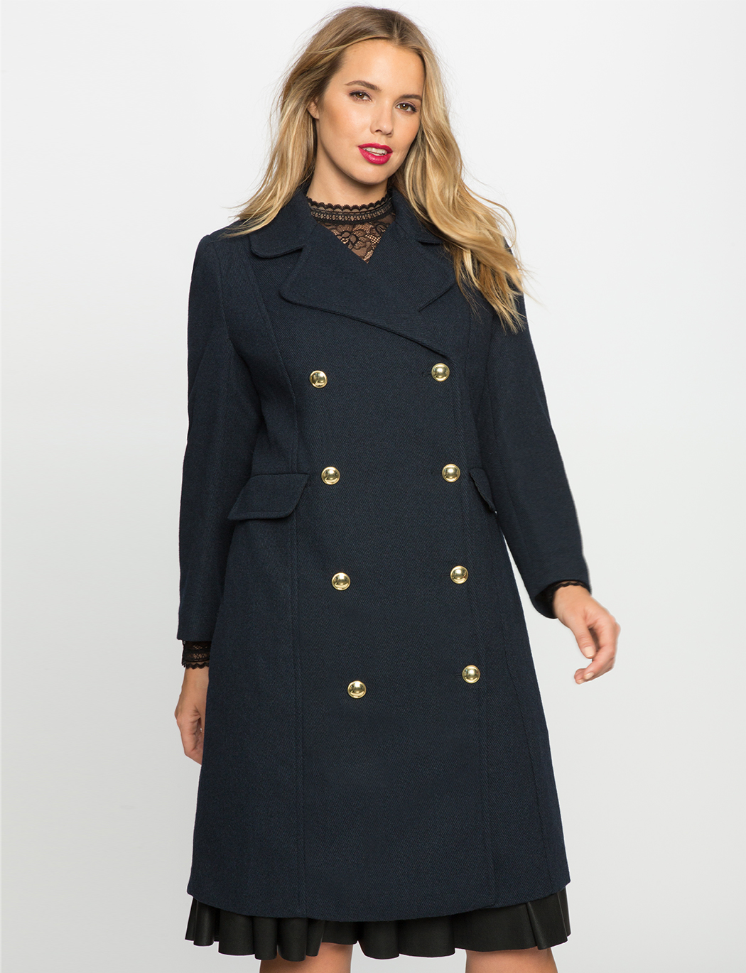 7e41f66f035 Double Breasted Coat