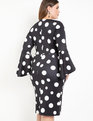 Flare Sleeve Scuba Dress Rock the Dot
