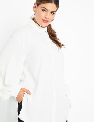 ELOQUII Elements Poet Sleeve Tunic