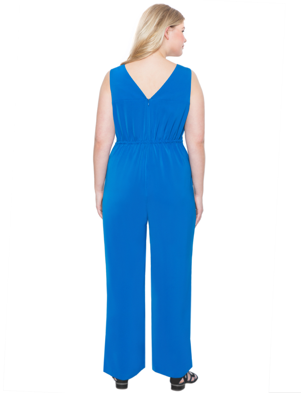 Bow Detail Wide Leg Jumpsuit