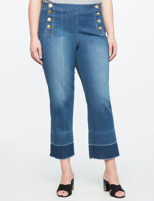Nautical Cropped Jeans