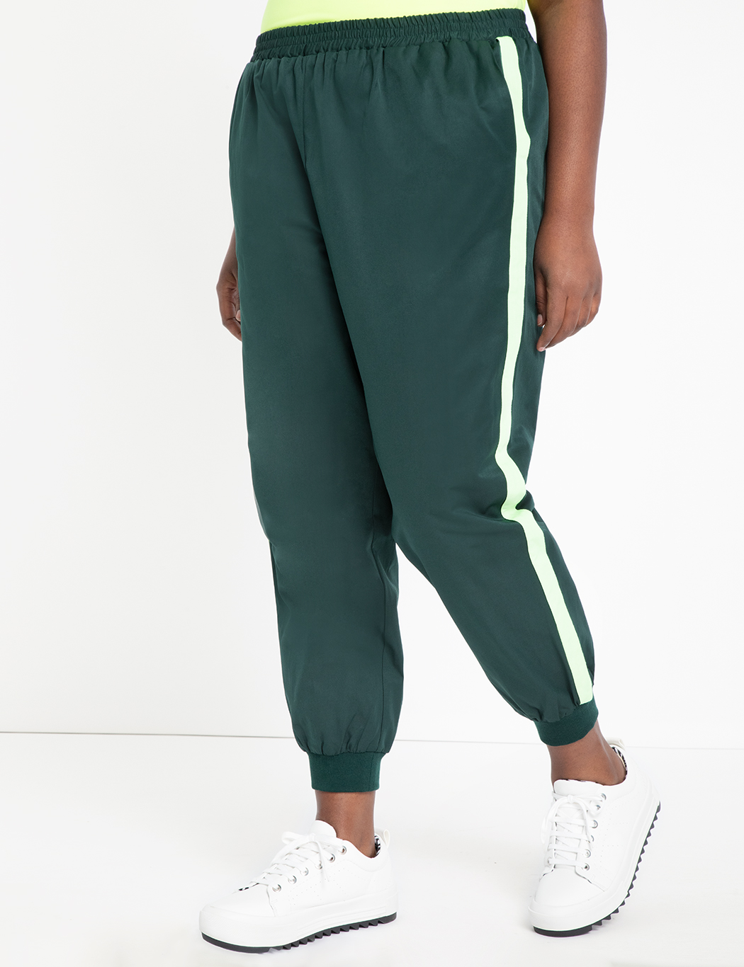 Jogger with Side Stripe