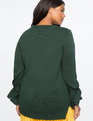 Tie Sleeve Sweater FOREST GREEN (E624)