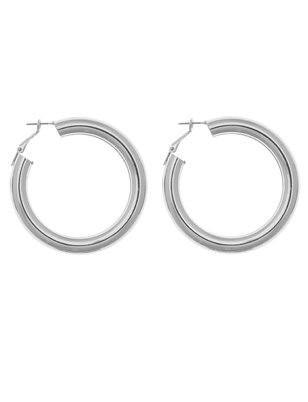 Oversized Rounded Hoops