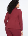 9-to-5 Stretch Work Blazer Cabernet