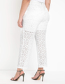 Lace Trouser Soft White