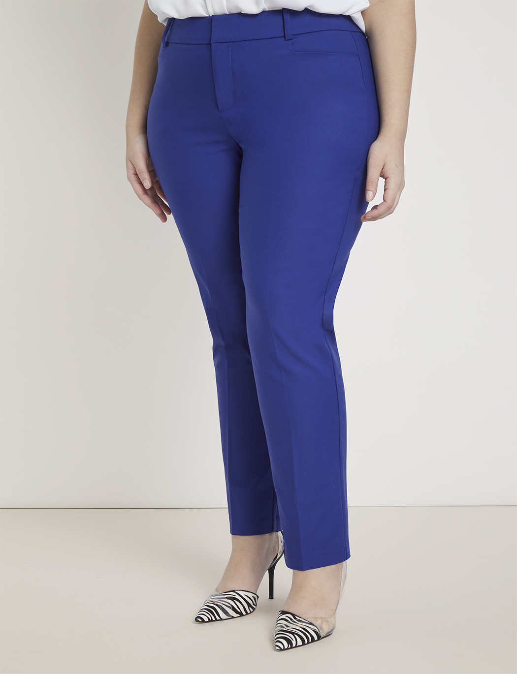 Kady Fit Double-Weave Pant