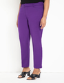 Kady Fit Double-Weave Pant Bloom Berry