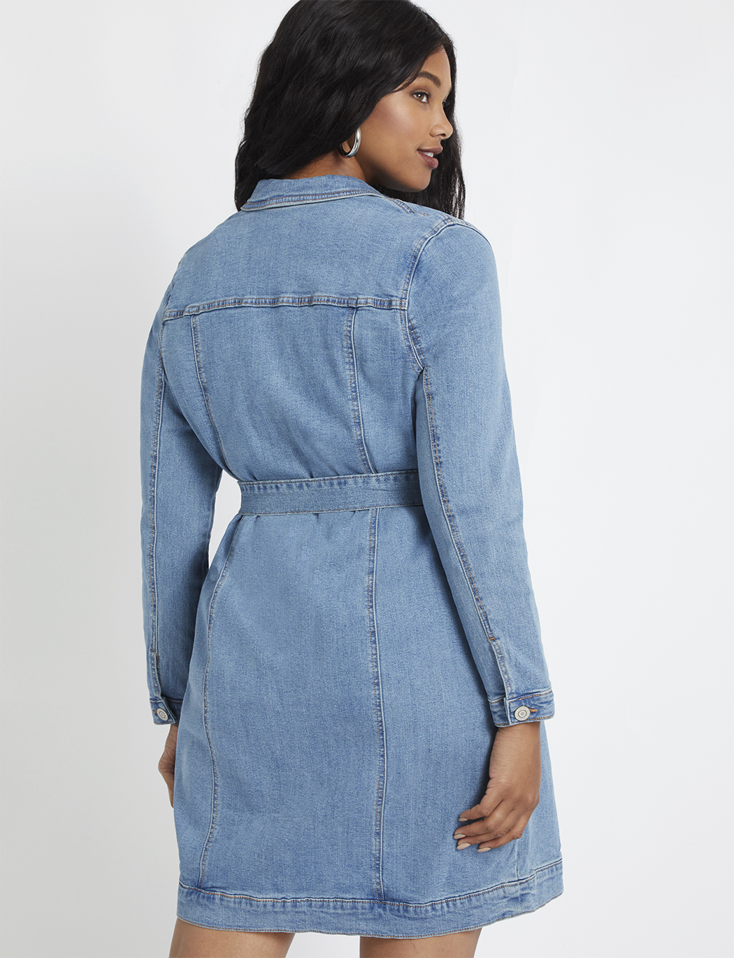 Denim Jacket Dress