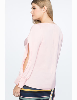 Easy Top with Sleeve Slit