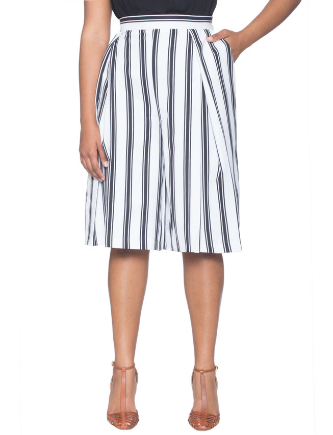 Studio Pleated Culottes