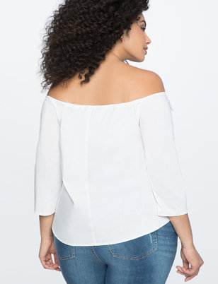 Off The Shoulder Top with Bows