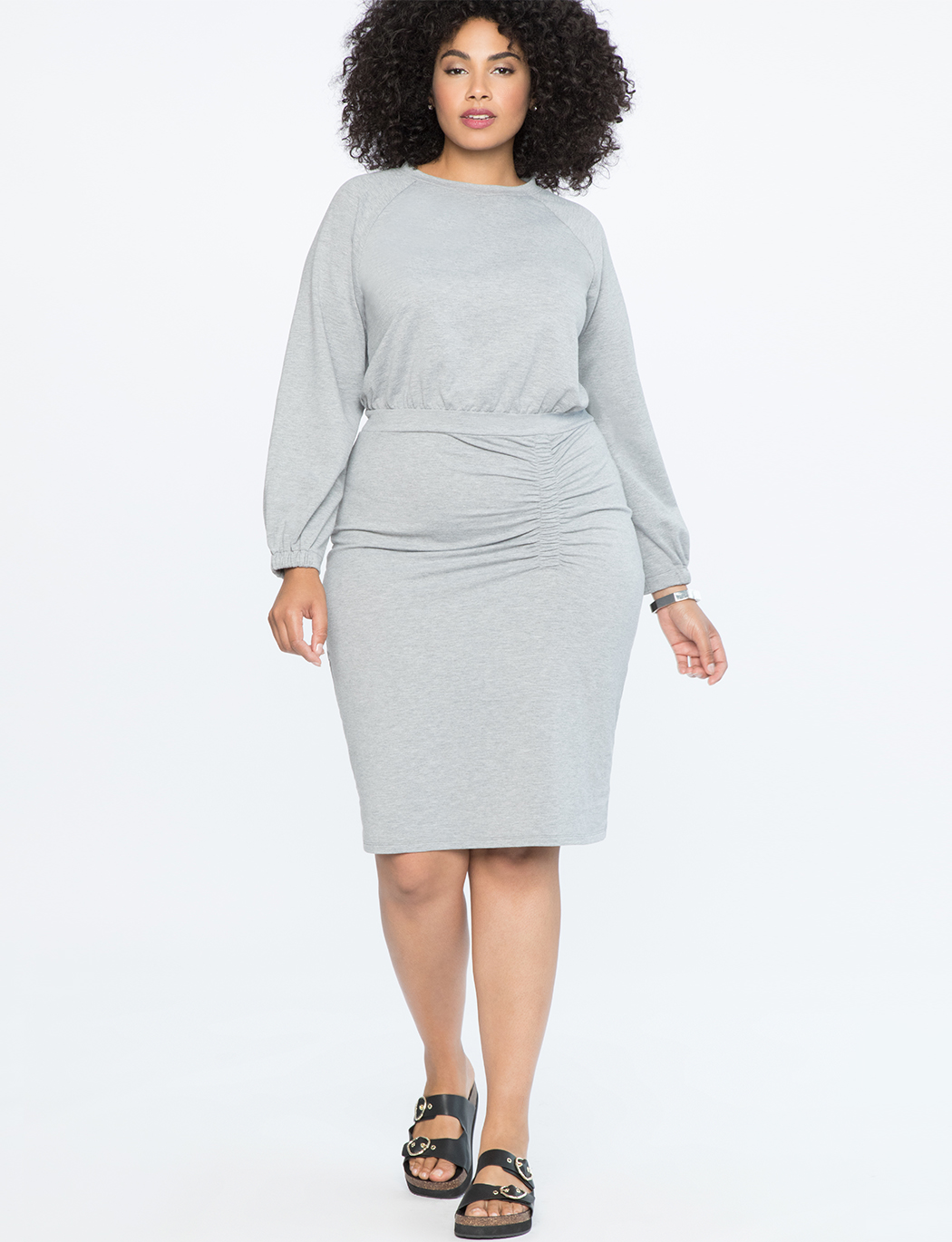 Sweatshirt Dress | Women\'s Plus Size Dresses | ELOQUII