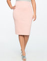 Neoprene Pencil Skirt ROSE DUST
