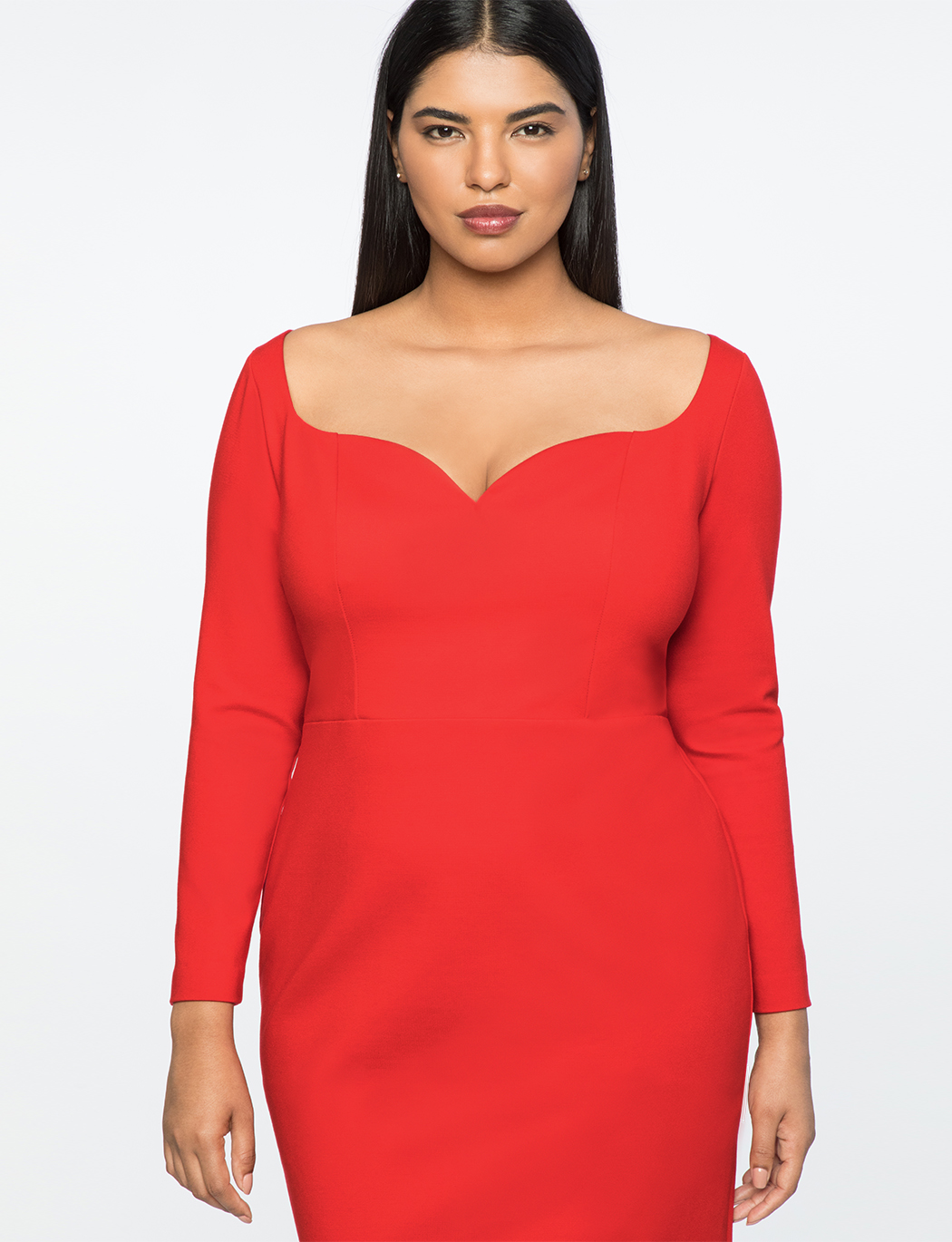 Jason Wu X ELOQUII Sweetheart Sheath Dress