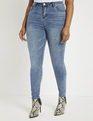 Gena Fit Olivia Sculpting Skinny Jean Medium Wash