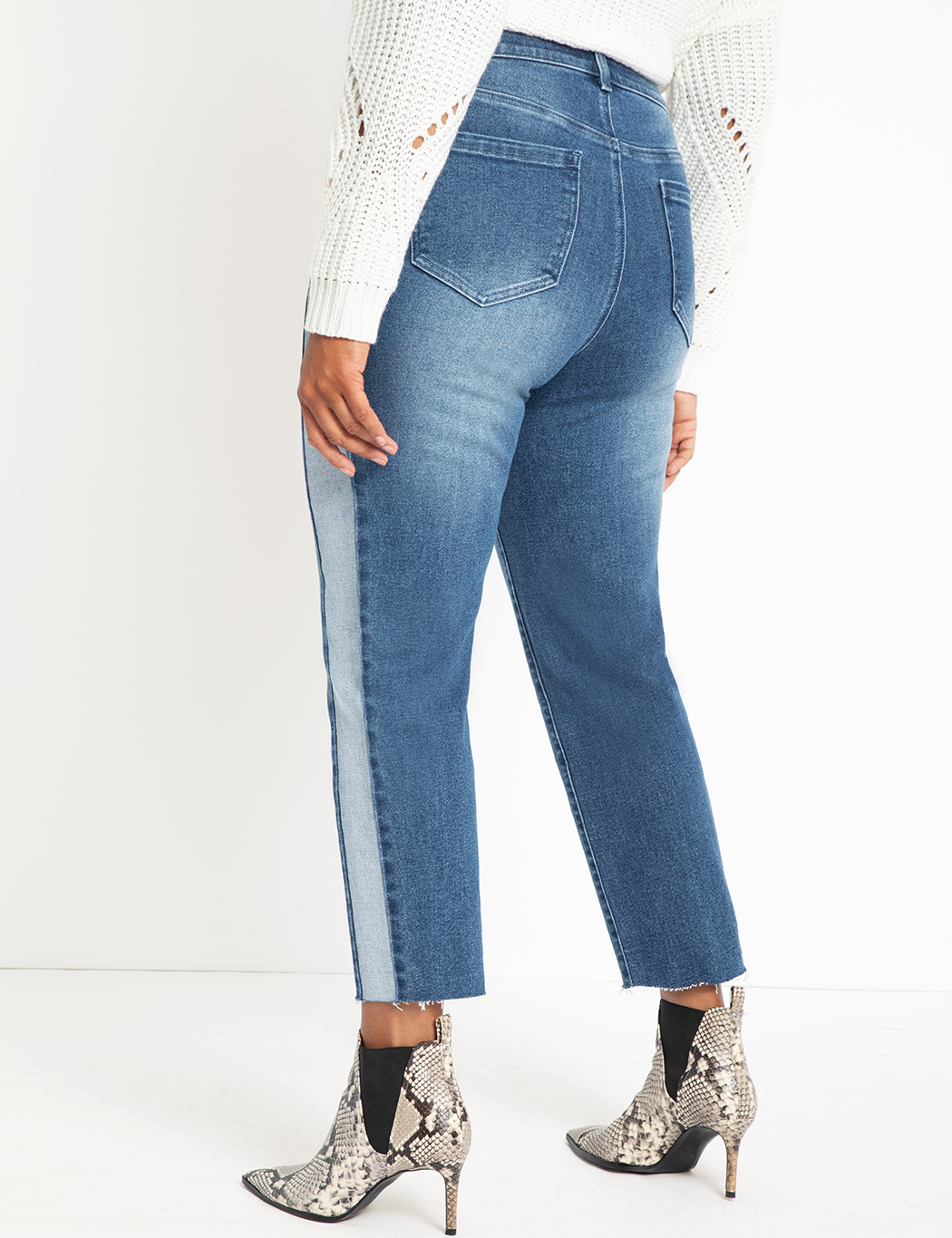 Relaxed Two-Tone Jean
