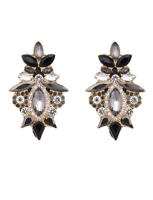 Jeweled Statement Earrings