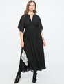 Split Sleeve Gown BLACK