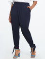 Pull On Easy Ankle Wrap Pant Blueberry