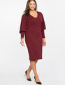 Iconic Puff Sleeve Dress Port Royale