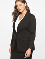 Premier Bi-Stretch Work Blazer Totally Black