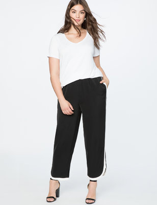 Contrast Side Stripe Jogger