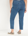 Distressed Relaxed Jeans Medium Wash