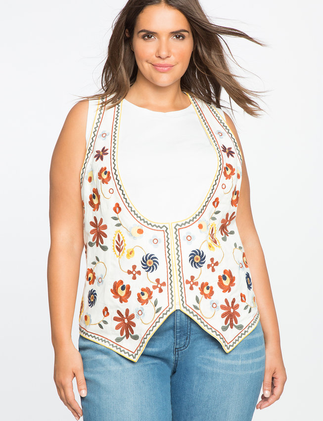 Studio Embroidered Vest