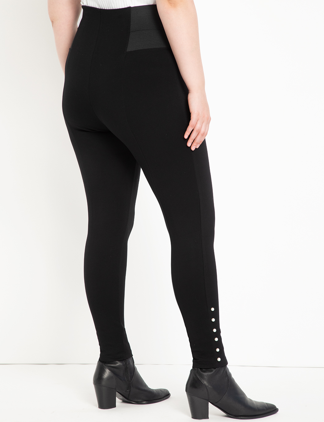 Miracle Flawless Legging with Pearl Detail